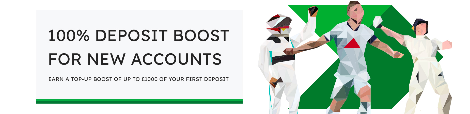 New Account Deposit Boost