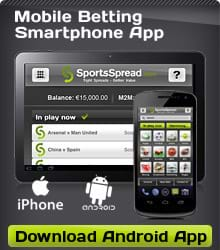 Download the new SportsSpread app for Android