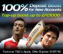 50% Deposit Boost for New Accounts