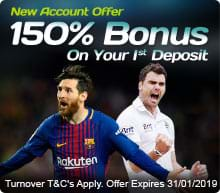 150% Deposit Boost for New Accounts